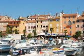 Old Croatian city Rovin' — Stock Photo