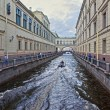 Stock Photo: St.Petersburg, ZimniayKanavka, Neva.