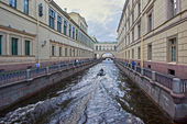 St.Petersburg, Zimniaya Kanavka, Neva. — Stock Photo
