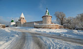 Ipatiev monastery in winter — Stock Photo