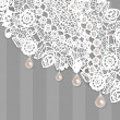 Lace background — Stock vektor #26907437