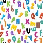 l'alphabet du dessin animé - pour les enfants - travail du sol — Photo