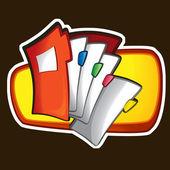 File folder illustration — Stock Photo