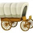 Wooden wagon — Stockfoto #35438981