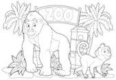 The zoo — Foto de Stock