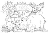 The zoo — Stockfoto