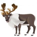 Cartoon deer — Stock Photo