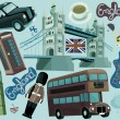 National elements of London — Stock Photo #42903555