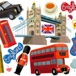 National elements of London — Stock Photo #42903645