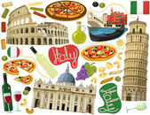 National elements of Rome — Stock Photo