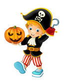 Cartoon pirat — Stockfoto