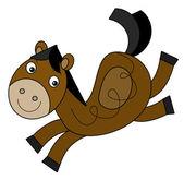 Cartoon horse — Stock Photo