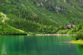Lake in the Tatra Mountains — Stock Photo