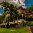 Постер, плакат: The Asa Packer Mansion Jim Thorpe Pennsylvania