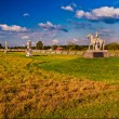 Evening light on the battlefields of Gettysburg, Pennsylvania — Stock Photo #27064729