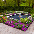 Fountain garden at Longwood Gardens, Pennsylvania. — Stock Photo