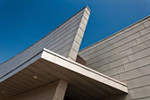 Architectural details of the new Visitor Center at Fort McHenry, — Stock Photo