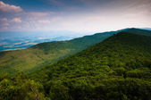 View of the Appalachian Mountains from Duncan Knob, George Washi — Foto Stock