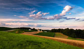 Farm in rural Southern York County, Pennsylvania. — Stock Photo