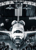 The Space Shuttle Discovery at the Smithsonian Air and Space Mus — Stock Photo