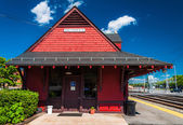 Train station in Brunswick, Maryland. — Stock Photo
