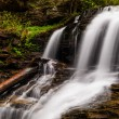 Shawnee Falls, at Ricketts Glen State Park, Pennsylvania. — Stock Photo