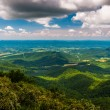 Stock Photo: View of Shenandoah Valley from Jewell Hollow Overlook in She