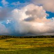 Beautiful evening clouds over Big Meadows in Shenandoah National — Stock Photo #28261571