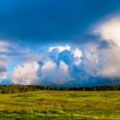 Beautiful evening clouds over Big Meadows in Shenandoah National — Stock Photo #28261601
