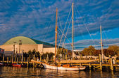 The harbor in Annapolis, Maryland. — Stock Photo