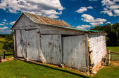 Old shed in York County, Pennsylvania. — Stock Photo