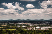 Vue d'york, pennsylvanie, du haut du monde. — Photo