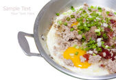 Vietnam fried egg — Stock Photo