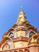 Pagode do templo de phathatphakhaw — Fotografia Stock