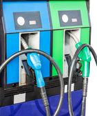Petrol pump filling — Foto Stock