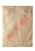Closed envelope — Stockfoto