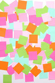 Sticky notes — Stock Photo