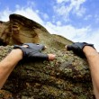 Rock climbing — Stock Photo