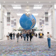 The world's largest photo globe at Photokina 2012 — Stock Photo #26903643