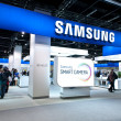 Samsung promoting Smart Camera at Photokina 2012 — Stock Photo