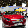 Chevrolet Volt plug-in hybrid car — Stock Photo