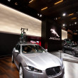 Stock Photo: Jaguar XF Sportbrake high class estate car