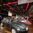 Jaguar sport sedan at Paris Motor Show 2012 — Stock Photo