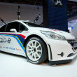 Peugeot 208 RS sport hatchback — Stock Photo