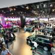 And cars at the Paris Motor Show 2012 — Stock Photo