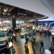 Visitors at the Paris Motor Show 2012 — Stock Photo