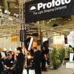 Profoto lighting stand at Photokina 2008 — Stock Photo #26907041