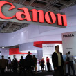 Stock Photo: Canon at Photokin2008