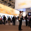 Panasonic booths at Photokina 2008 — Stock Photo