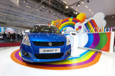 Suzuki Swift compact hatchback - So Color — Stock Photo